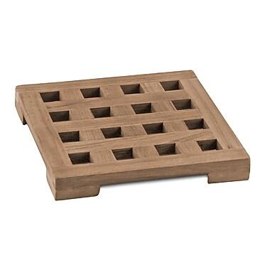 SeaTeak Square Trivet; Small