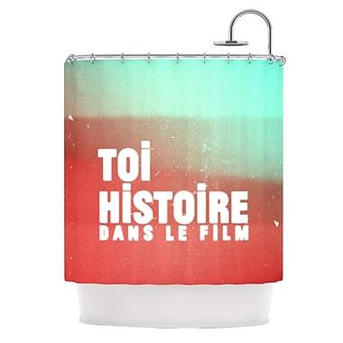 KESS InHouse Toi Histoire Shower Curtain