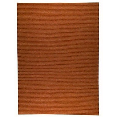 Hokku Designs Margarita Orange Area Rug; Rectangle 5'6'' x 7'10''