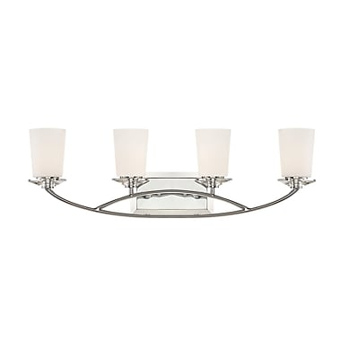 Designers Fountain Palatial 4-Light Vanity Light