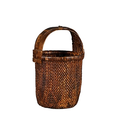 Antique Revival Chinese Style Vegetable Basket