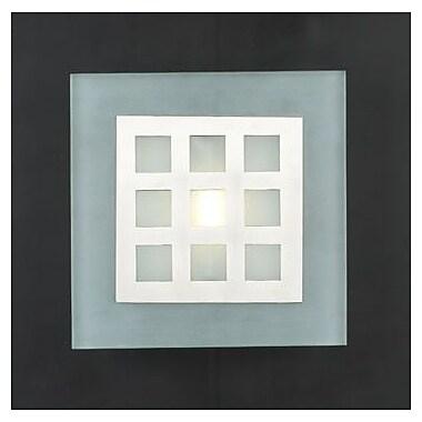 PLC Lighting Bali 1-Light Wall Sconce