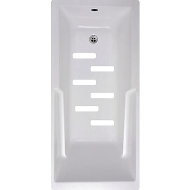 No Slip Mat by Versatraction Bath Tub and Shower Treads (Set of 6); White