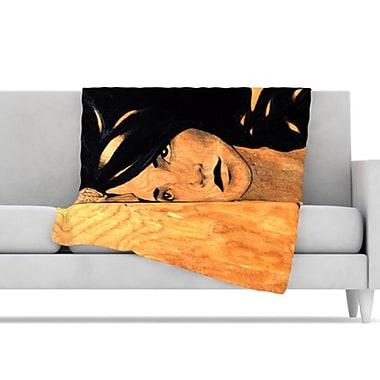 KESS InHouse Bra Throw Blanket; 80'' L x 60'' W