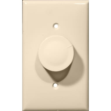 Morris Products Rotary Single Pole Dimmer in Almond
