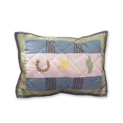 Patch Magic Lil Yeeehaw Cotton Boudoir/Breakfast Pillow