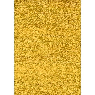 Chandra Strata Yellow Area Rug; Rectangle 9' x 13'