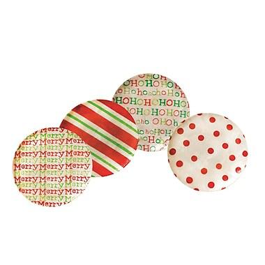 Dekorasyon Capiz Holiday Plate (Set of 4)