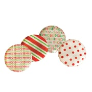 Dekorasyon Capiz Holiday Plate (Set of 4)