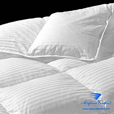 Highland Feather Lorient Midweight Down Comforter; King
