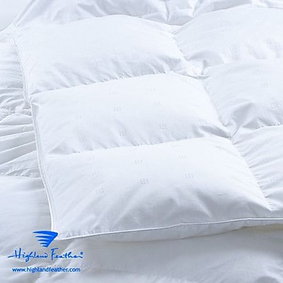 Highland Feather Marseille Midweight Down Comforter; Queen