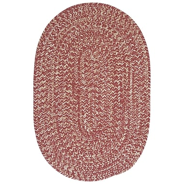 Colonial Mills Tremont Rosewood Area Rug; Oval 8' x 11'