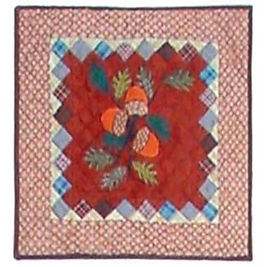 Patch Magic Acres of Acorns Cotton Throw Pillow