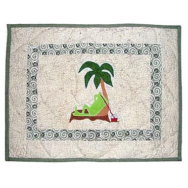 Patch Magic Hoppy Days Cotton Boudoir/Breakfast Pillow