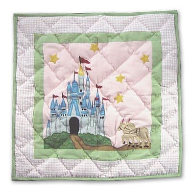 Patch Magic Fairy Tale Princess Cotton Throw Pillow