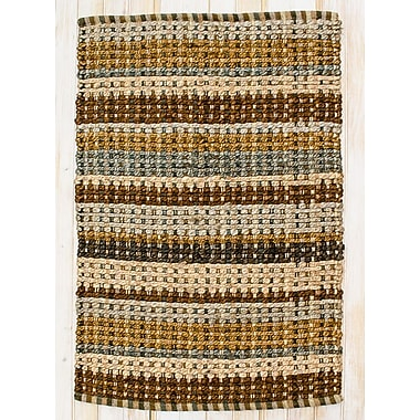 CLM Painted Desert Woodbrown Area Rug; Rectangle 2'6'' x 4'2''