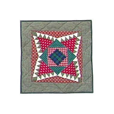 Patch Magic Yuletide Stars Cotton Throw Pillow