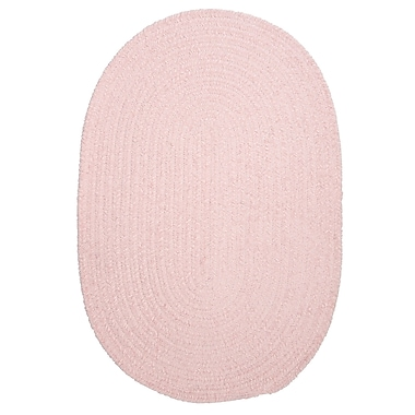 Colonial Mills Spring Meadow Blush Pink Area Rug; Round 6'