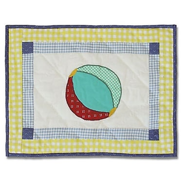 Patch Magic Summer Fun Cotton Boudoir/Breakfast Pillow
