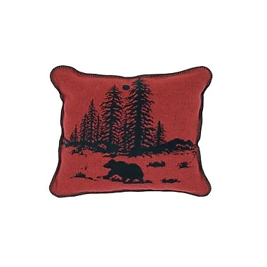 Wooded River Wooded River Bear Throw Pillow