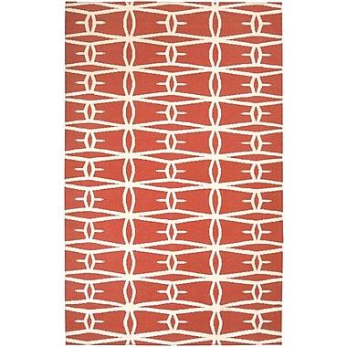 Jill Rosenwald Rugs Fallon Coral Area Rug; 5' x 8'
