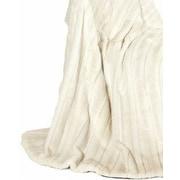 Ital Art Design Fancy Mink Fur Throw Blanket