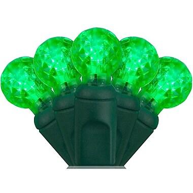 Wintergreen Lighting 70 Light String LED Lights; Green