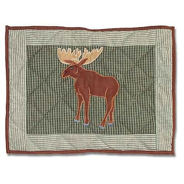 Patch Magic Moose Crib Cotton Boudoir/Breakfast Pillow