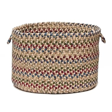 Colonial Mills Twilight Utility Basket; Oatmeal