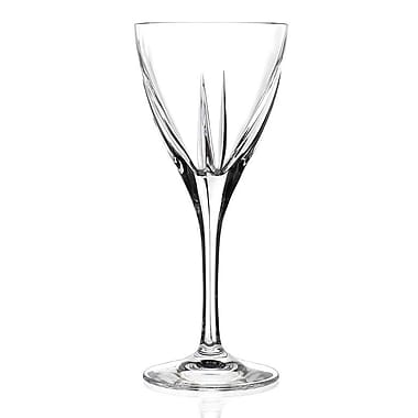 Lorren Home Trends Fusion White Wine Glass (Set of 6)