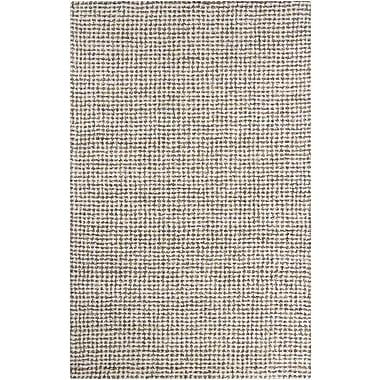Chandra Acer Ivory Area Rug; 5' x 8'
