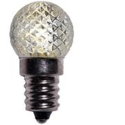 Wintergreen Lighting 0.96W 130-Volt LED Light Bulb (Pack of 25); Amber