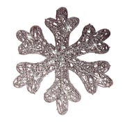 Brite Star Spun Glitter 20 Light LED Snowflake