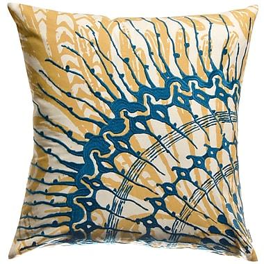 Koko Company Water Cotton Throw Pillow