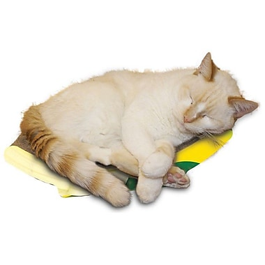 Imperial Cat Scratch 'n Shapes Banana Recycled Paper Scratching Board