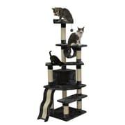 Kitty Mansions 71'' Shanghai Cat Tree; Gray