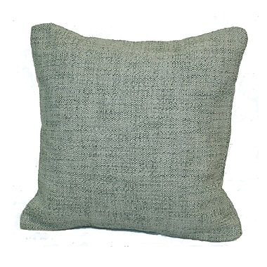 Rennie & Rose Design Group Woodlands Throw Pillow; Birch / Teal