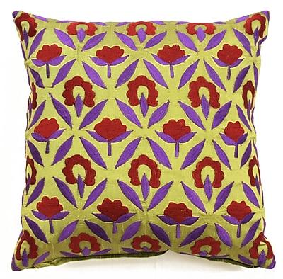 Sabira Bali Ikat Throw Pillow
