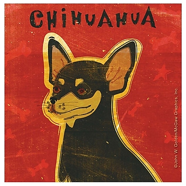 Thirstystone Chihuahua Occasions Coasters Set (Set of 4)