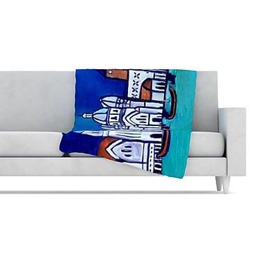 KESS InHouse Venice Fleece Throw Blanket; 40'' L x 30'' W