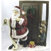 Horizons East Santa w/ Peeping Children