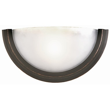 Design House Fairfax 1-Light Wall Sconce; Oil Rubbed Bronze
