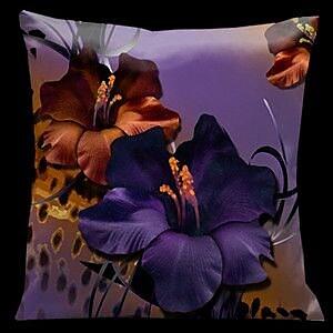 Lama Kasso Chocolate Royale Throw Pillow