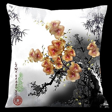 Lama Kasso Exotic Asia Throw Pillow