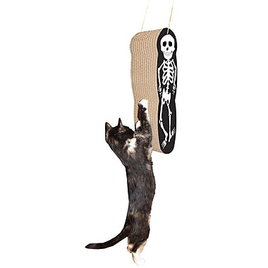 Imperial Cat Scratch 'n Shapes Skeleton Hanging Recycled Paper Scratching Board