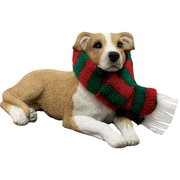 Sandicast Fawn Pit Bull Terrier Christmas Ornament
