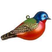 Cobane Studio LLC Painted Bunting Ornament