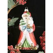Cobane Studio LLC Father Christmas w/ Bunnies Ornament