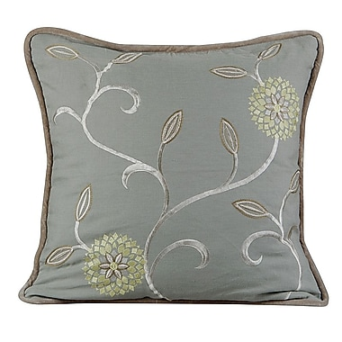 Gracious Living Bedazzle Throw Pillow; Mist