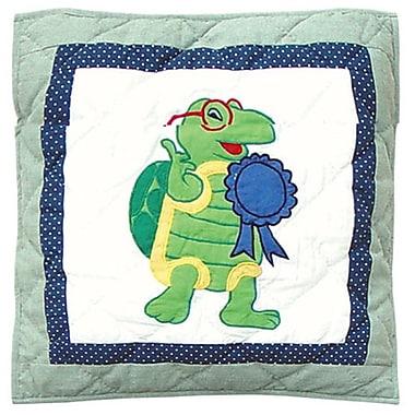 Patch Magic Cotton Throw Pillow